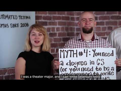 Sauce Labs Automated Testing Mythbusters - CS Degree Not Required Related YouTube Video