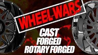 Sh*t I Never Knew: WHEEL WARS || Cast Vs. Forged Vs. ???