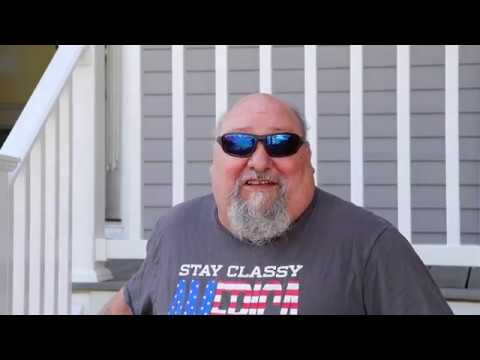 Russell reached out to us for another job after having a roof replacement done from the inclement New England weather. This time his porch needed a makeover and he was happy to share his experience with us!