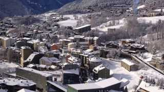 preview picture of video 'Rando-Trail au dessus de la Massana sous la neige'