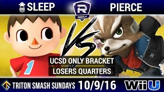 TSS 12 UCSD Only Bracket W Side: SQD | SLeeP (Kirby, Villager) vs Objection (Captain Falcon)