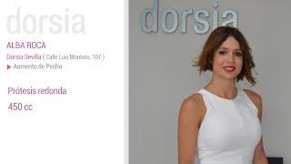 Aumento de pecho - Testimonio Alba Roca - Clínica Dorsia Madrid Santa Engracia
