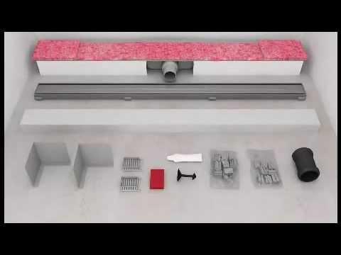 Duschrinne montieren – so geht's richtig | BAUHAUS