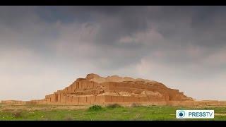preview picture of video 'Iran Chogha Zanbil Ziggurat زيگورات چغازنبيل شوش استان خوزستان'