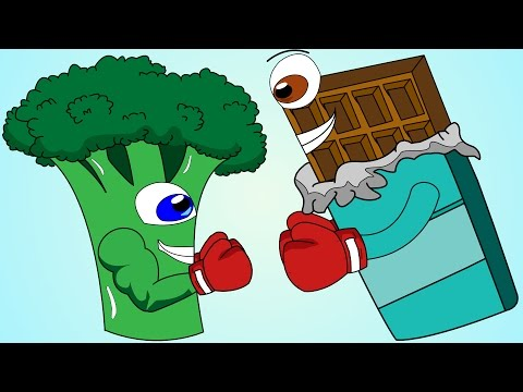 Video Healthy Food Vs Junk Food Song!