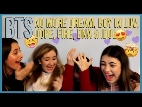 BTS - GAYO DAEJUN || NO MORE DREAM, BOY IN LUV, DOPE, FIRE, DNA & IDOL PERFORMANCES REACTION