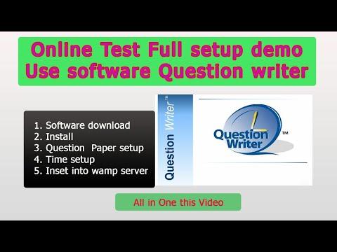 ONLINE TEST  SOFTWARE . LOCAL LAN ONLINE TEST SOFTWARE.