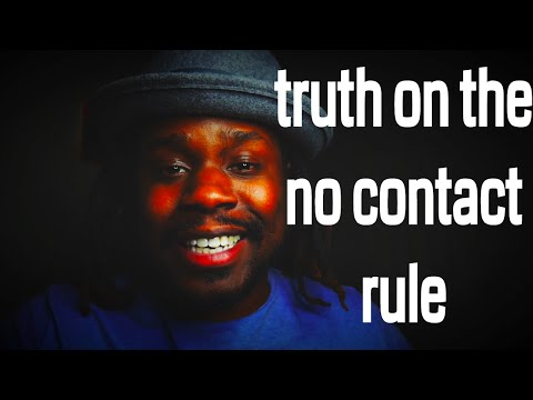 The Truth On The No Contact Rule || Sylvester McNutt III