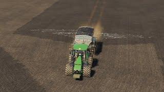 Farmersburg Ep#13   Bales, Fertilizer, Spraying   FS19 Timelapse   Farming Simulator 19 Timelapse