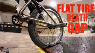 FLAT TIRE DEATH GAP!