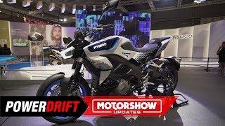 2021 Kymco RevoNex : A geared electric sportbike : EICMA 2019 : PowerDrift