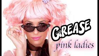 GREASE PINK LADIES | FRENCHIE | QUICK HALLOWEEN MAKEUP TUTORIAL | Victoria Lyn