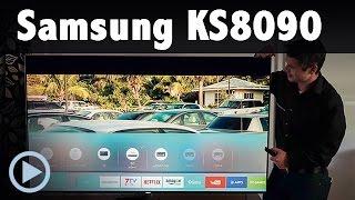 Samsung KS8090 4K UHD TV Kurzvorstellung UE 48 55 65 75KS8090 LED Smart TV Test