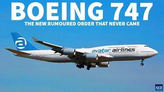 The Rumoured Boeing 747-8i Order