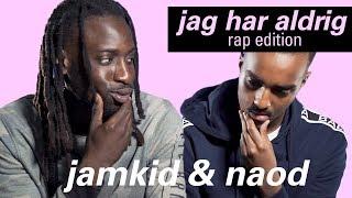 Kan man säga pass eller!? | jag har aldrig (rap edition) med Naod & Jamkid