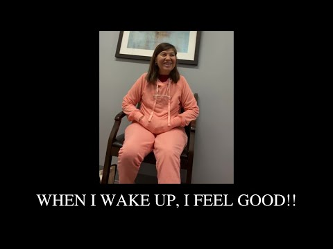 When I wake up, I feel good!!