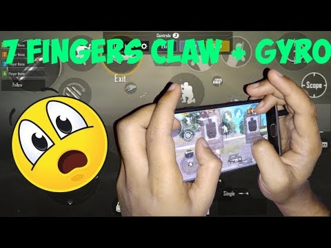 Pubg Mobile 5 finger claw + Gyroscope handcam - смотреть онлайн на