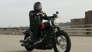 2021 All-new Street Bob 114 Softail Harley-Davidson vivid black