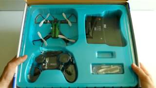 "Drohne ""Green Racer"" | Reely Green Racer RtF | FPV Racing Quadrocopter von Conrad wird ausgepackt!"