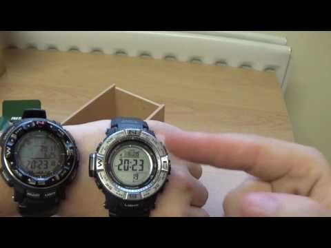 Casio Pro Trek PRW-3500-1ER Review and Unboxing