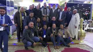 عبد النبي بعوي، رئيس مؤسسة بسمة للاعمال الخيرية يكرم مهنيي سيارات الأجرة بوجدة و يهديهم رحلات عمرة