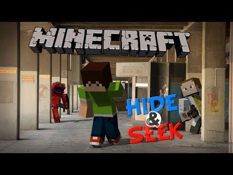SCHOVKA S GEJMREM | Minecraft Hide-and-Seek
