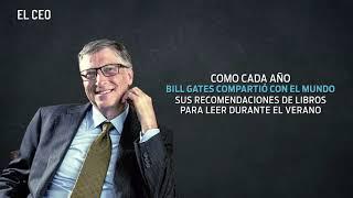 Libros y series de TV que Bill Gates recomienda para este verano