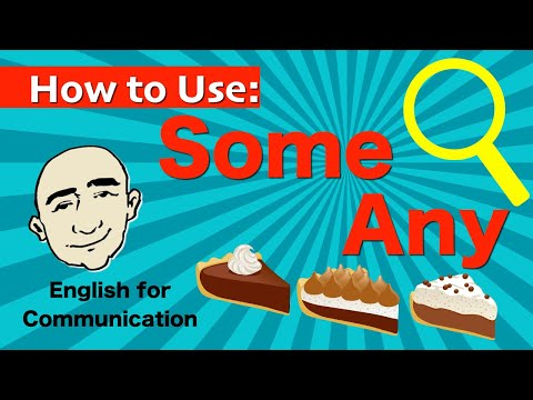 Some and Any - With Uncountable Nouns | English Speaking Practice For Communication | ESL