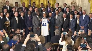 The President Honors the Golden State Warriors, 2015 NBA Champions