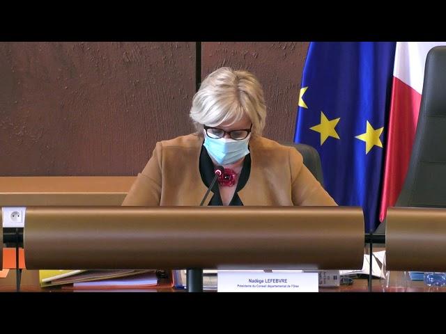 Discours d'ouverture budgétaire - Nadège Lefebvre