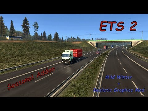 Extreme Realistic Graphic Mod by Mc2RoK for Ets2 - смотреть