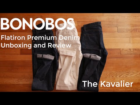 The New Bonobos Flatiron Selvage Denim Unboxing and Review