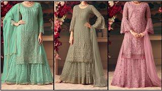 Latest Trending Gharara and Sharara Design || Beautiful Gharara and Sharara Collection