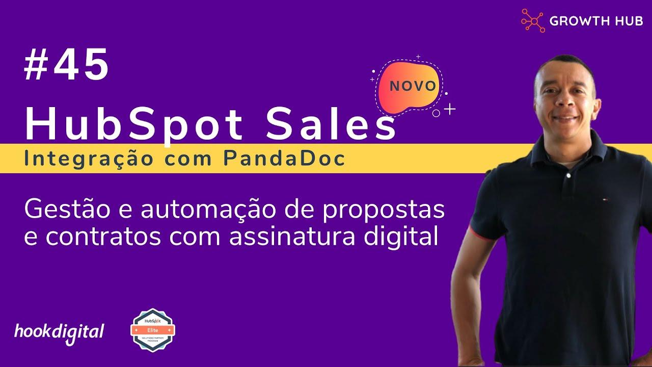 HubSpot Sales [2021] - Assinatura Digital de Propostas e Contratos com PandaDoc
