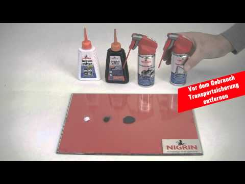 Pulver wird zu Spray - NIGRIN 2012