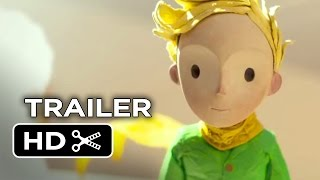 The Little Prince Official Trailer #1 (2015) - Marion Cotillard, Jeff Bridges Animated Movie HD