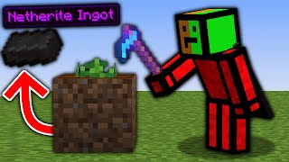 Minecraft, But There Are Custom Hoes...