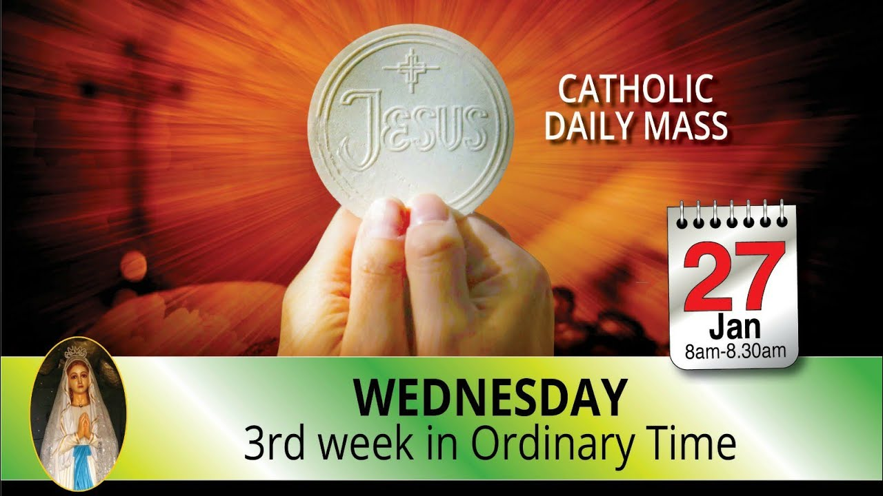 Catholic Mass Online 27 January 2021 Live Mass By Divine Retreat Centre
