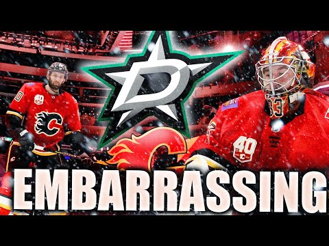 FLAMES PULL OFF MOST EMBARRASSING LOSS OF 2020 STANLEY CUP PLAYOFFS (Flames, Stars Game 6) NHL News