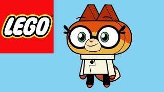 How to Build Lego Dr Fox from Unikitty!