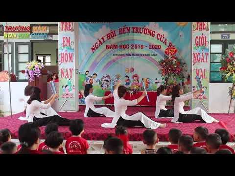 khai giảng năm học 2019-2020 - Bài hát + múa nghề giáo viên