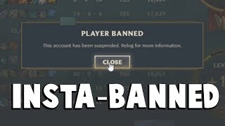 When You Get INSTA-BANNED for Flaming...| Funny LoL Series #235