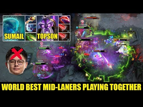 SumaiL And TOPSON Playing Their Signature Heroes IN PUB Game They Do Massacre Pro Gameplay Dota 2