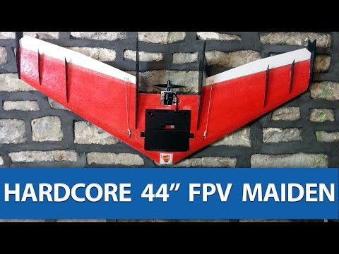 i-ragged-its-s-off--hardcore-44-flying-wing-fpv-maiden