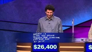 Jeopardy! Presents: 6-Time Champion Alex Jacob
