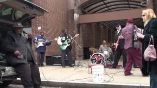 Big Jerry Blues Band Live on Beale with the Hitman