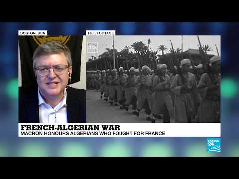 Macron honours Algerians who fought for France during French-Algerian war: