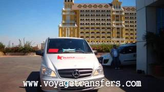 preview picture of video 'Antalya Airport Transfers - Belek Side Kizilagac Sorgun Alanya Turkey.wmv'