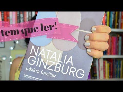 LÉXICO FAMILIAR, de NATALIA GINZBURG   #umtetotododelas
