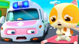 Super Ambulance's Mission   Police Car, Fire Truck   Nursery Rhymes   Kids Songs   BabyBus